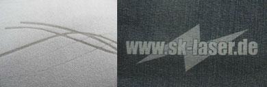 Textil Lasergravur