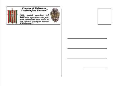 (Retro) Cartolina da Collezione del Centenario con ANNULLO POSTALE