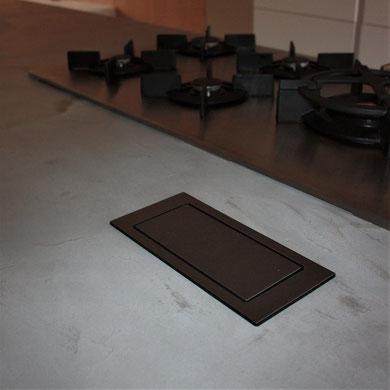 Aanrechtblad betoncire grijs 20% - Beton cire Nederland