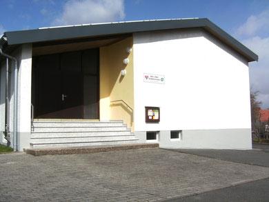 Das Haus der Gemeinschaft am Weidenborn 6 a in Weidenhausen von Vorne...