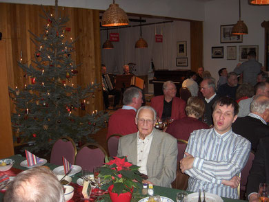 Weihnachtsfeier 2011 im Sängerheim