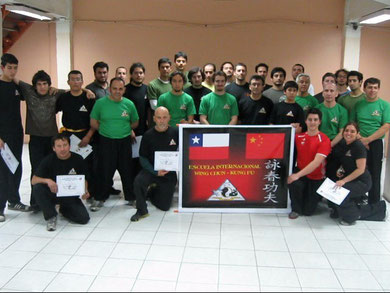 Seminario Interno Applied Wing Chun Chile