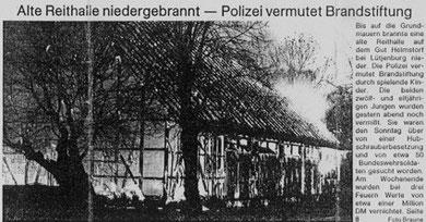 Quelle: Kieler Nachrichten 8.Dezember 1986