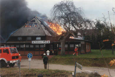 Brand Kührener Krug am 5. November 1996