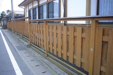 個人邸 大和塀 施工 近畿 関西 阪神 中谷産業株式会社