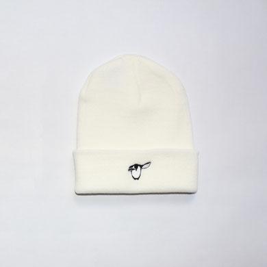 Salute Pinguin Beanie - weiss - Mütze
