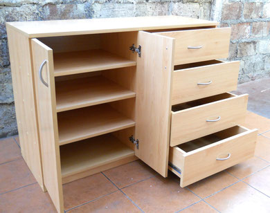 Cajoneras comodas veladores modernos mr muebles for Modelos de zapateras de madera modernas