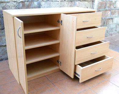 Cajoneras comodas veladores modernos mr muebles for Zapateras de madera sencillas