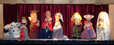 Viel Applaus für die Puppen...