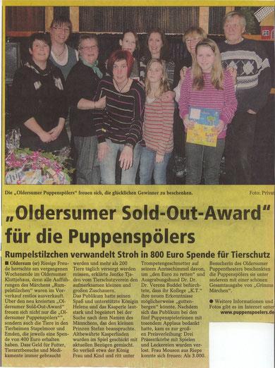 SonntagsReport v. 5.02.2012