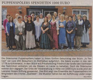 Ostfriesen-Zeitung v. 19.10.2012