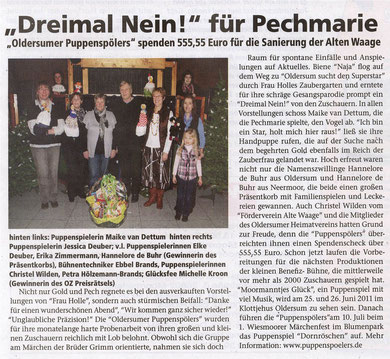 Moormerland Anzeiger Ausgabe 394  v. Februar 2011