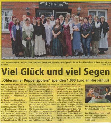 SonntagsReport v. 7.10.2012