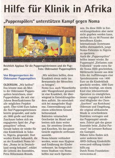 Neue Zeitung v. 21.10.2011
