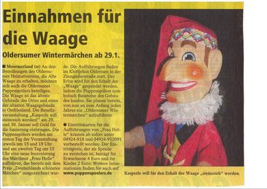SonntagsReport vom 26.12.2010