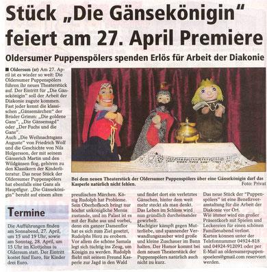 Sonntags-Report v. 15.04.2013, Michaela Kramer