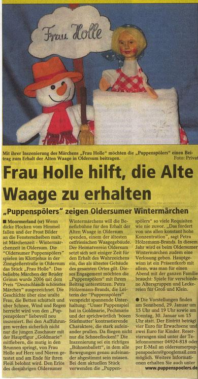 SonntagsReport v.23.01.2011