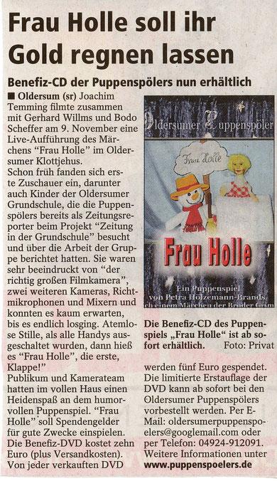 SonntagsReport v. 2.12.2012