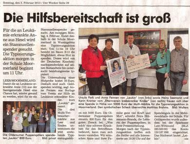 Der Wecker v. 3.02.2013