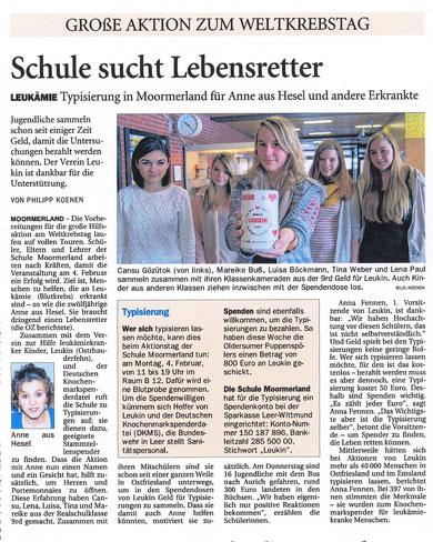 Ostfriesen-Zeitung v. 26.01.2013: Infokasten