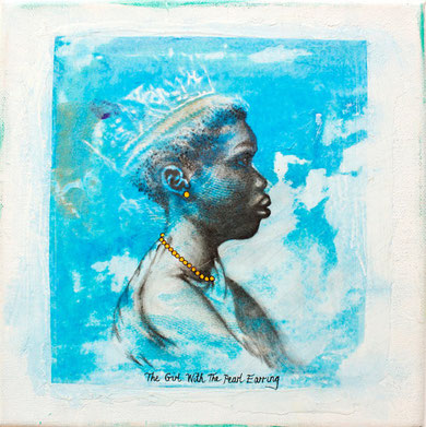 """The Girl with the Pearl Earing"" . Limited edition print"