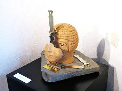 L'Androïde du Nil, vue de profil, D.Petit