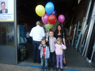 Familieneinladung für alle - auch die Kleinsten