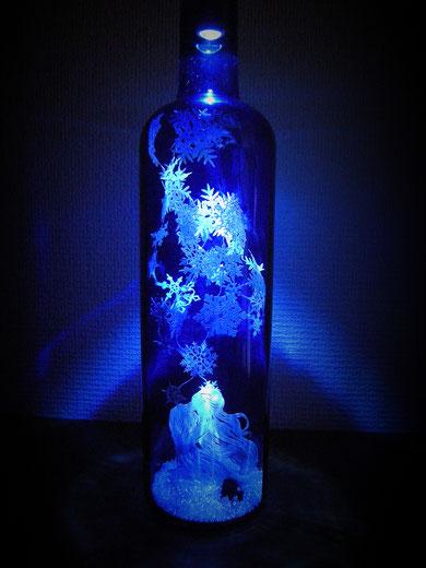 切り絵・雪の結晶