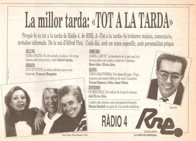 """Presentador del programa """"Tot a la tarda"""", de Ràdio 4"""""""