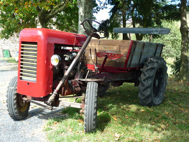 tracteur volatier pourle vignobel beaujolais