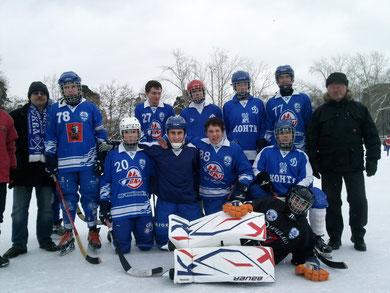 """Юный динамовец"" (мужская команда), сезон 2010/2011"
