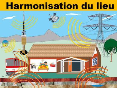 Harmonisation du lieu - Pélerinage bien-être.fr