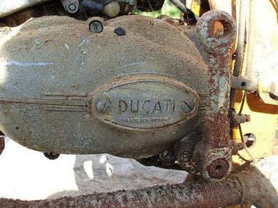Sólo con ver el estado de éste motor Ducati da escalofrios!
