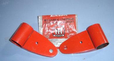 Soportes de faro de Montesa Rapita 50, más parecido con el color de orígen imposible!