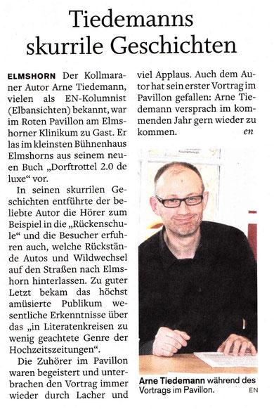 Elmshorner Nachrichten, 14.03.2012