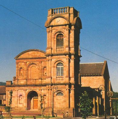 Eglise abbatiale d'Etival