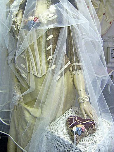 Brautensemble und Ringkissen!