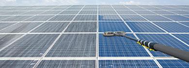 Nettoyage de panneaux solaires nantes