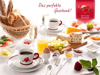 Frühstücksservice in Dresden und Cottbus