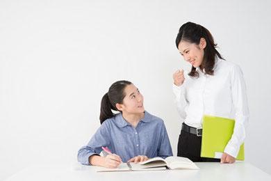お子さまに合った学習カリキュラム、プランご提案から最短3日で指導が開始可能です。実際の指導がはじまります。