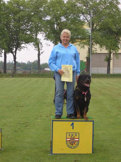 1. Platz - Bundesmeister in der IPO 3