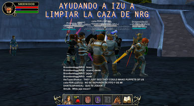 AQUI CON IZU VS NRG