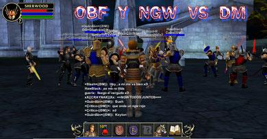 ayudando a un aliado, ngw vs dm