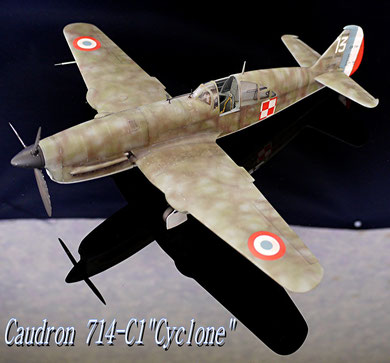 Caudron 714-C1 Azur 1/32