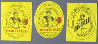 Etykiety BKKB  (wł.Dariusz Olech)