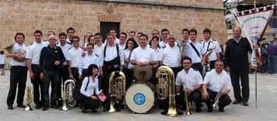 Il compl. band. a San Vito lo Capo per Festival Interregionale per bande
