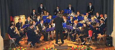 Il Compl. Band. in concerto al Teatro S. Cicero di Cefalù