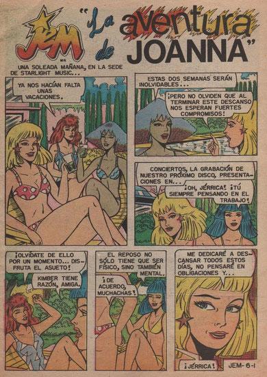 Jem Comic en Español por Eveleemoon