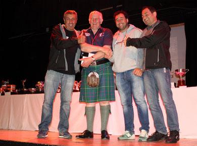 Moto Club Olot, Campions per equips de clubs estrangers als SSDT 2013 - Jordi Picola-Carles Casas-Salva Planella