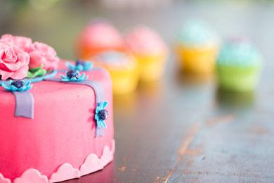 gezellig samen taart maken..